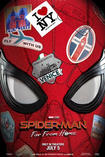 Spider-Man: Far From Home - in theatres 07/05/2019