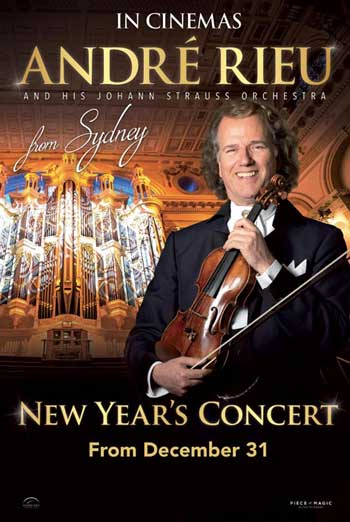 Andre Rieu 2019 Sydney - in theatres 12/31/2018