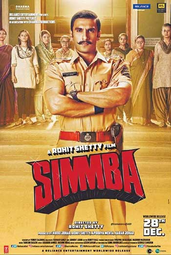 Simmba (Hindi W/E.S.T.) movie poster