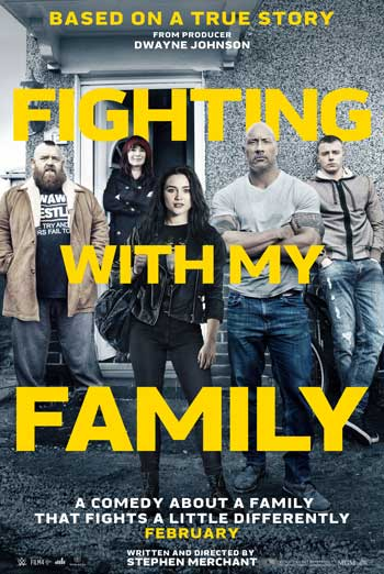 Fighting with my Family - in theatres 02/22/2019