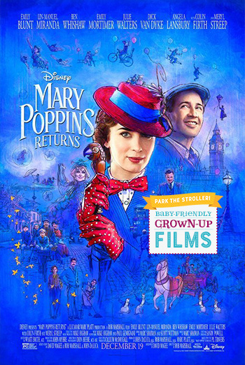 Mary Poppins Returns (Park The Stroller) movie poster