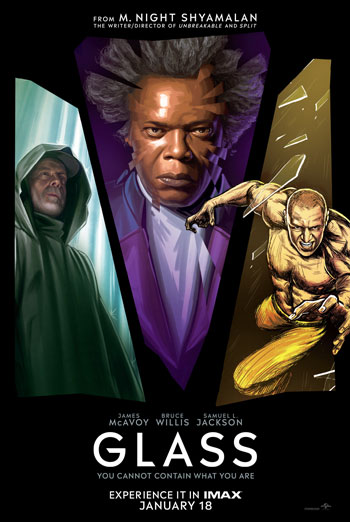 Glass (IMAX) movie poster