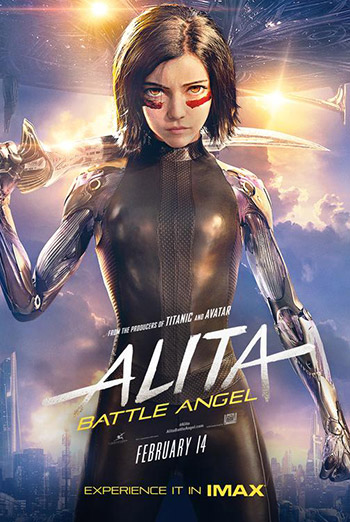 Alita: Battle Angel (IMAX) movie poster