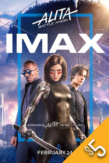 Alita: Battle Angel (IMAX) movie poster