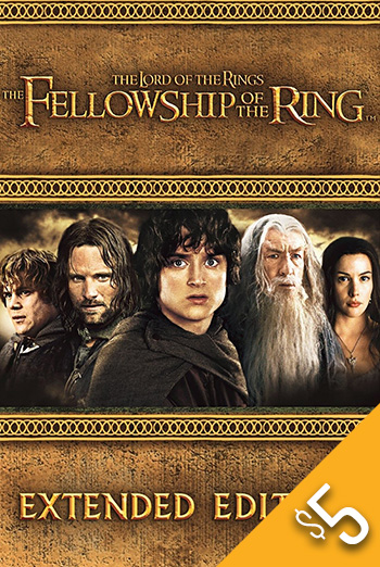 Lord of the Rings: Fellowship Of Ring movie poster