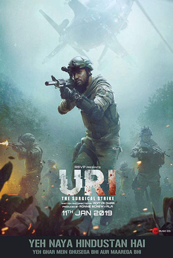 Uri: The Surgical Strike(Hindi W/E.S.T.) movie poster