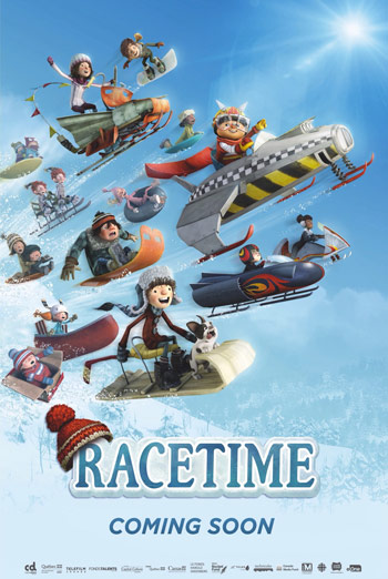 Racetime movie poster