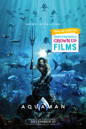 Aquaman (Park the Stroller) movie poster