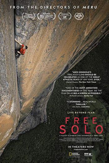 Free Solo (IMAX) movie poster