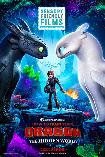 How To Train Your Dragon 3: Hidden World (Sensory) movie poster