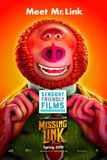 Missing Link (Sensory) movie poster