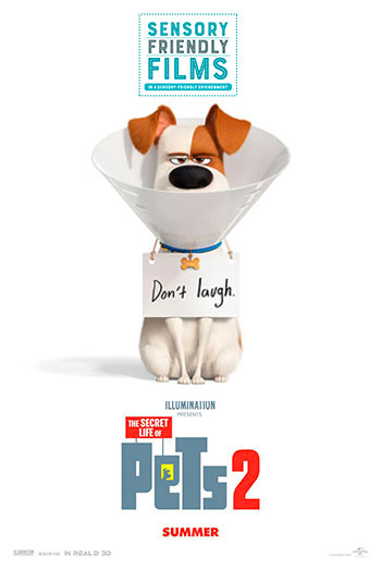 Secret Life Of Pets 2, The (Sensory) movie poster