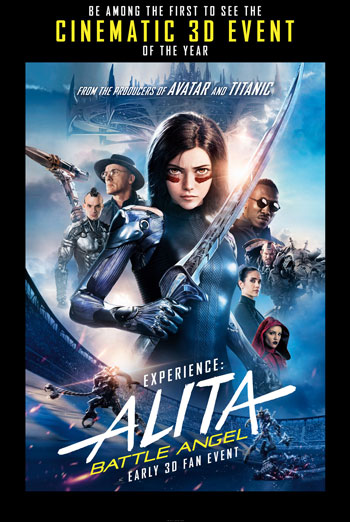 Alita: Battle Angel (IMAX)(3D)(Fan Event) movie poster