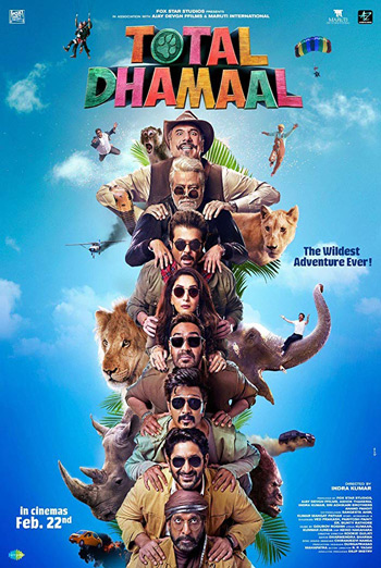 Total Dhamaal (Hindi) movie poster