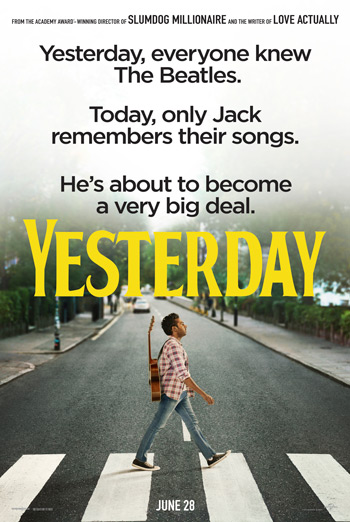 Yesterday - in theatres soon