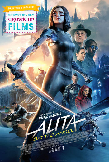 Alita: Battle Angel (Park the Stroller) movie poster