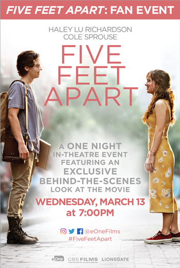 Five Feet Apart (Fan Event) movie poster