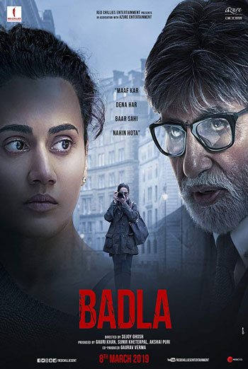 Badla (Hindi) - in theatres 03/08/2019