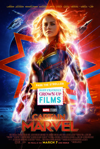 Captain Marvel (Park the Stroller) - in theatres 03/12/2019