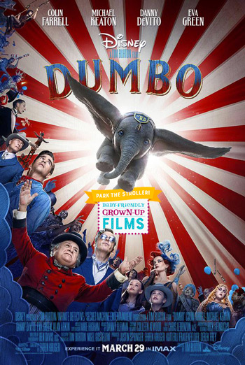 Dumbo (Park the Stroller) movie poster