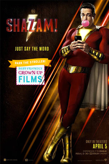 Shazam! (Park the Stroller) movie poster