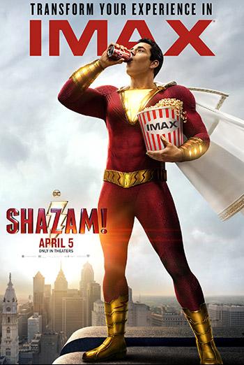 Shazam! (IMAX) movie poster