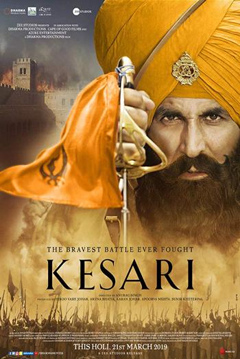 Kesari (Hindi) movie poster