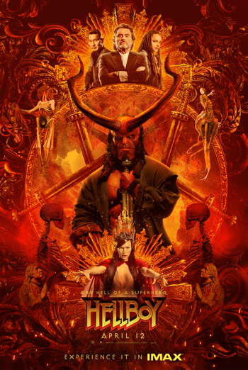 Hellboy (IMAX) movie poster