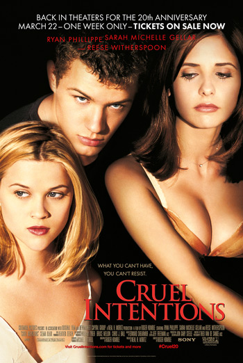 Cruel Intentions: 20th Anniversary movie poster