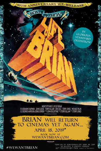 Monty Pythons Life of Brian (40th Anniversary) movie poster
