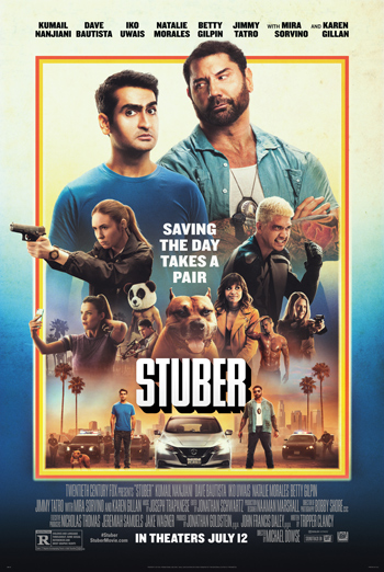 Stuber movie poster