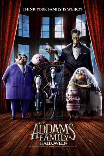 Addams Family, The movie poster