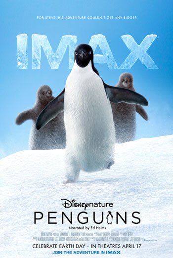 Penguins (IMAX) movie poster