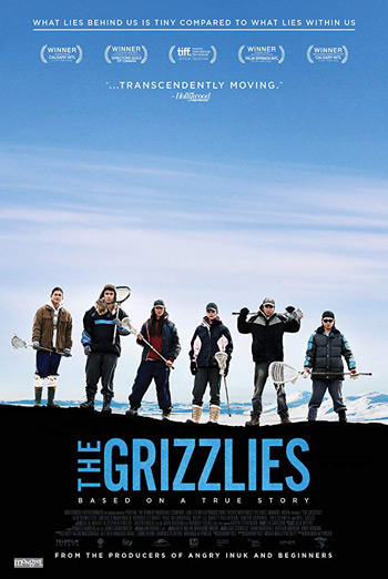 Grizzlies, The movie poster