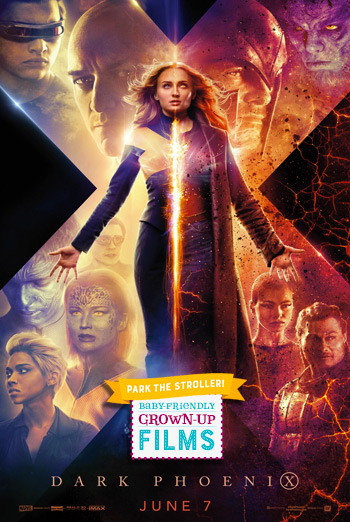 Dark Phoenix (Park the Stroller) movie poster