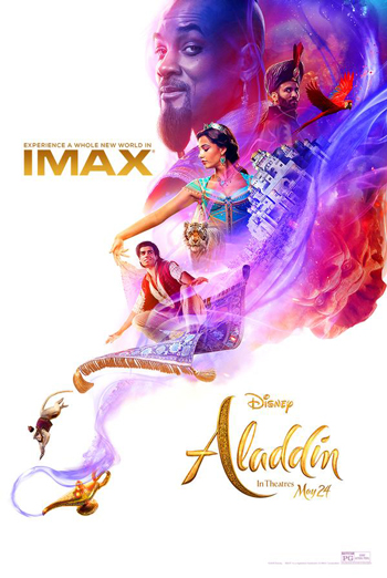 Aladdin (IMAX) movie poster