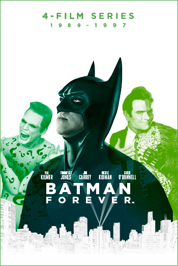 Batman Forever (1995) movie poster