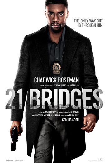 21 Bridges - in theatres 11/22/2019