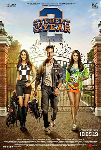 Student Of The Year 2 (Hindi W\E.S.T.) movie poster