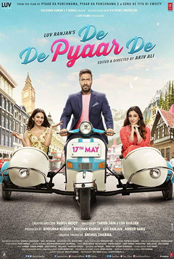 De De Pyaar De (Hindi W/E.S.T.) movie poster