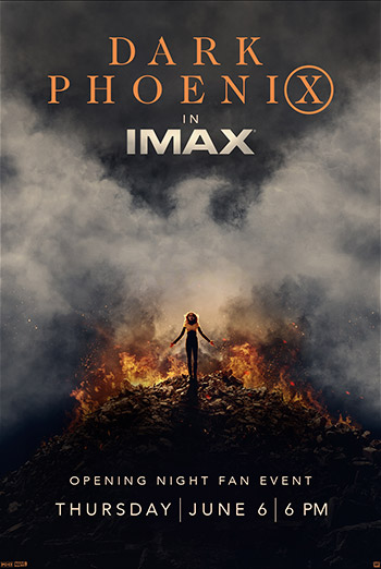 Dark Phoenix Opening Night IMAX Fan Event movie poster
