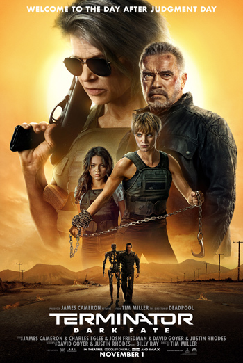 Terminator: Dark Fate - in theatres 11/01/2019