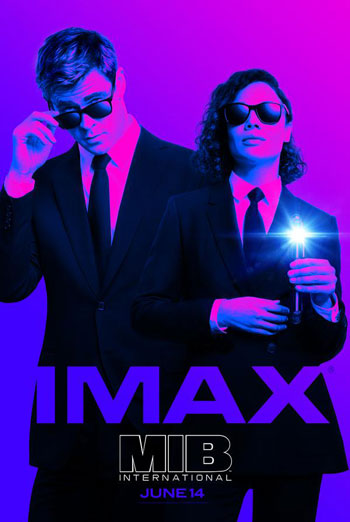 Men in Black: International (IMAX) movie poster