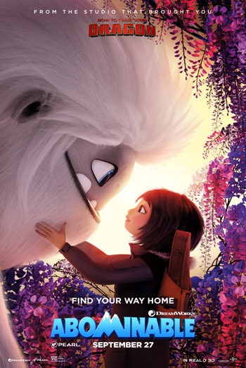 Abominable - in theatres 09/27/2019