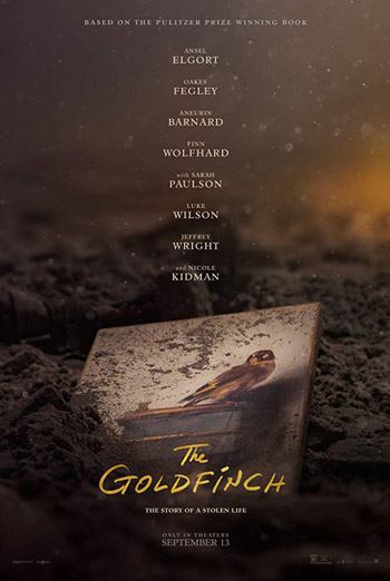 Goldfinch, The movie poster