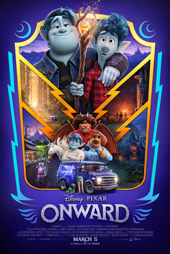 Onward movie poster