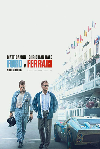 Ford v. Ferrari - in theatres soon