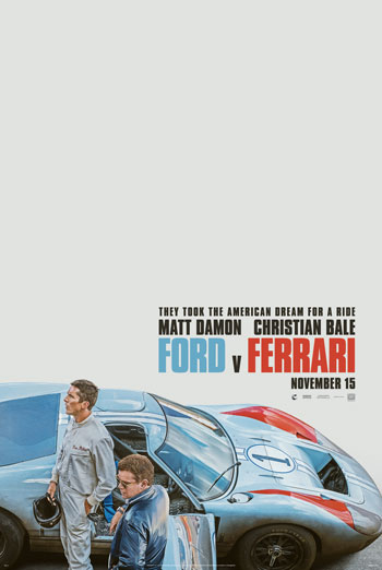 Ford v. Ferrari movie poster