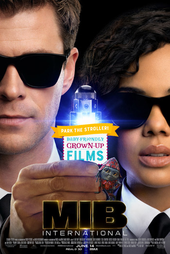Men in Black: International(Park The Stroller) movie poster