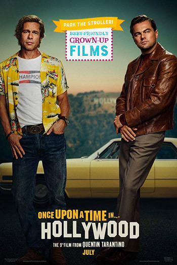 Once Upon A Time In Hollywood (Park the Stroller) movie poster